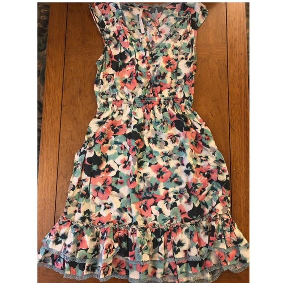 83289dcd8423 LC Lauren Conrad Dresses | Lauren Conrad Flowery Dress | Poshmark